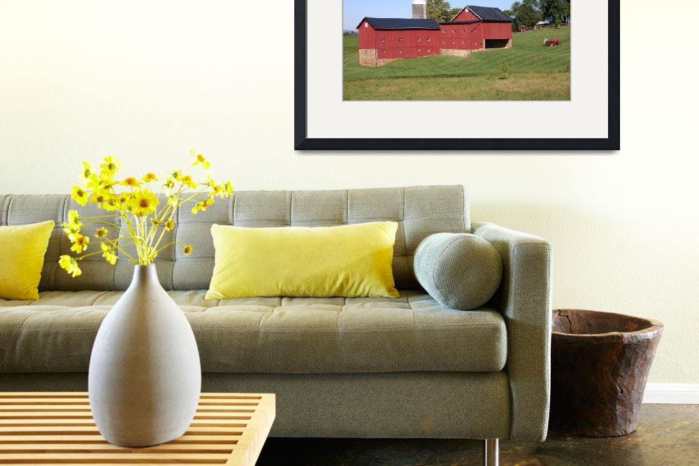 """Red Barn&quot  (2006) by sharpeye"