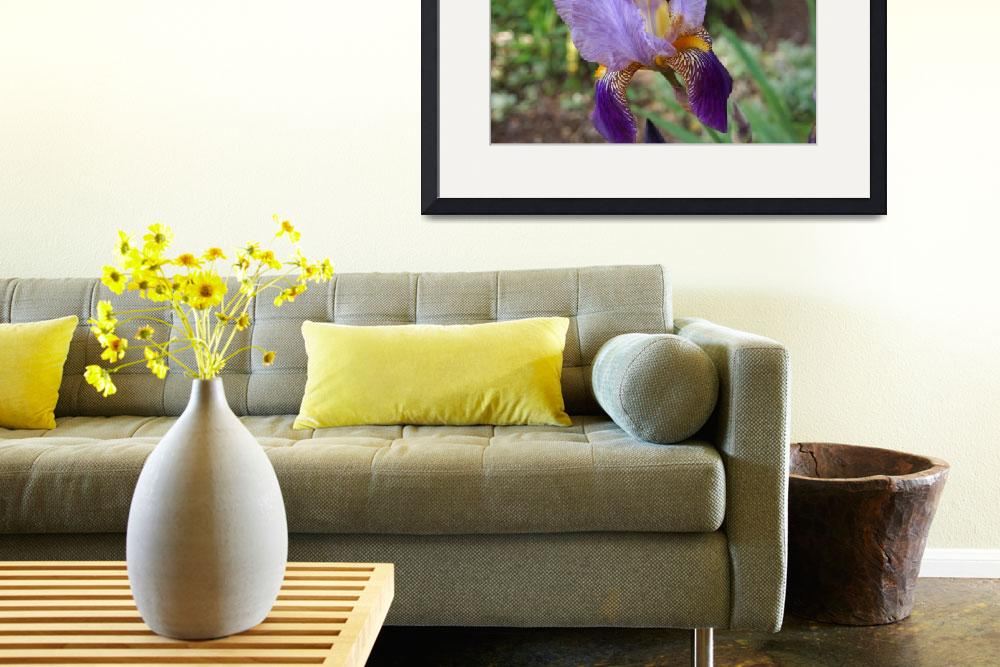 """Garden Art Prints Purple Art Prints Botanical&quot  (2014) by BasleeTroutman"