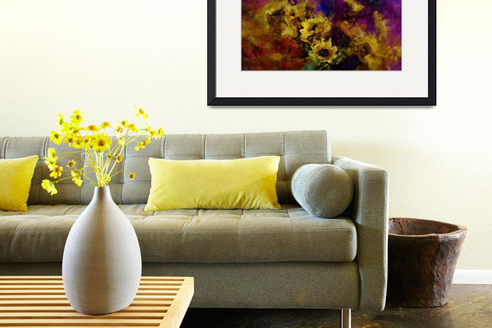 """Flowers Still Life&quot  (2012) by StefanOlivier"