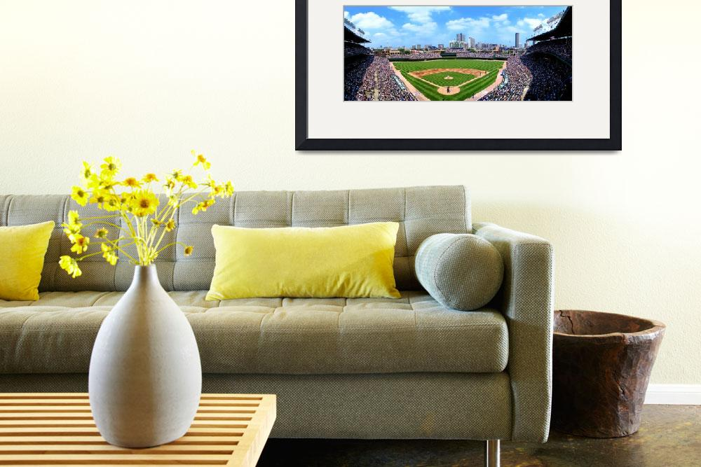 """Wrigley Field, Home of the Cubs, Chicago, IL&quot  (2009) by marywhitmer"