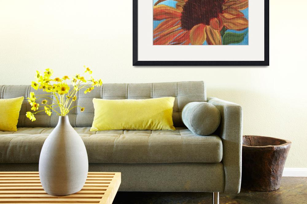 """Sunflower Series, Number 5&quot  (2011) by DreamGallery"