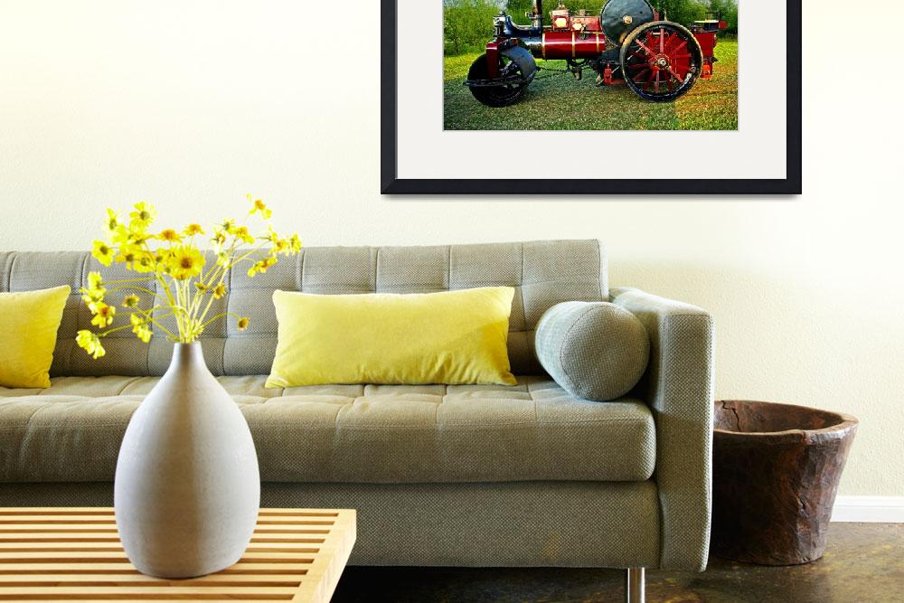 """Fowler Steam Locomotive&quot  (2010) by loversdream"