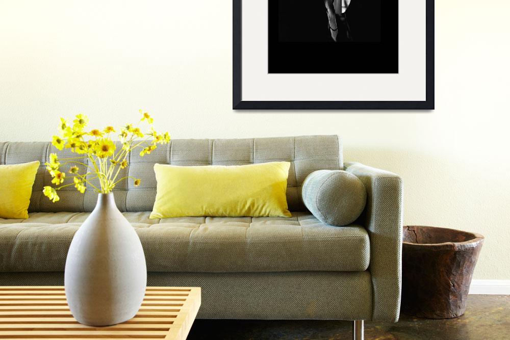 """Daffodil in Black and White ll&quot  (2012) by bavosiphotoart"
