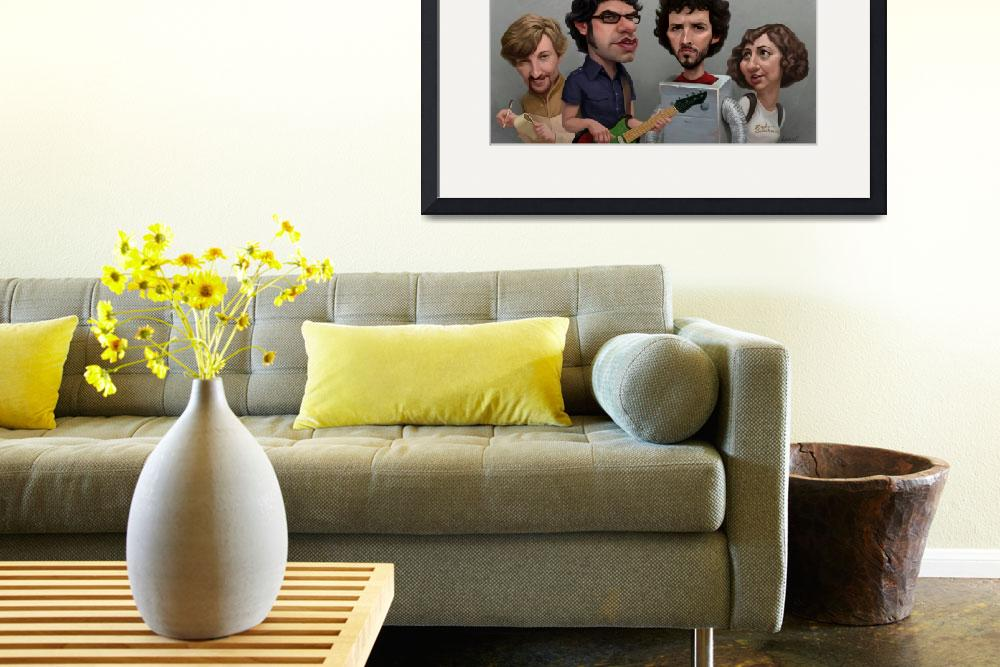 """Flight of the Conchords&quot  (2013) by blakeloosli"