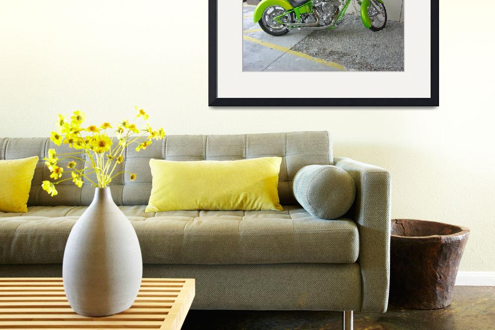 """lime green bike&quot  (2006) by jpt"