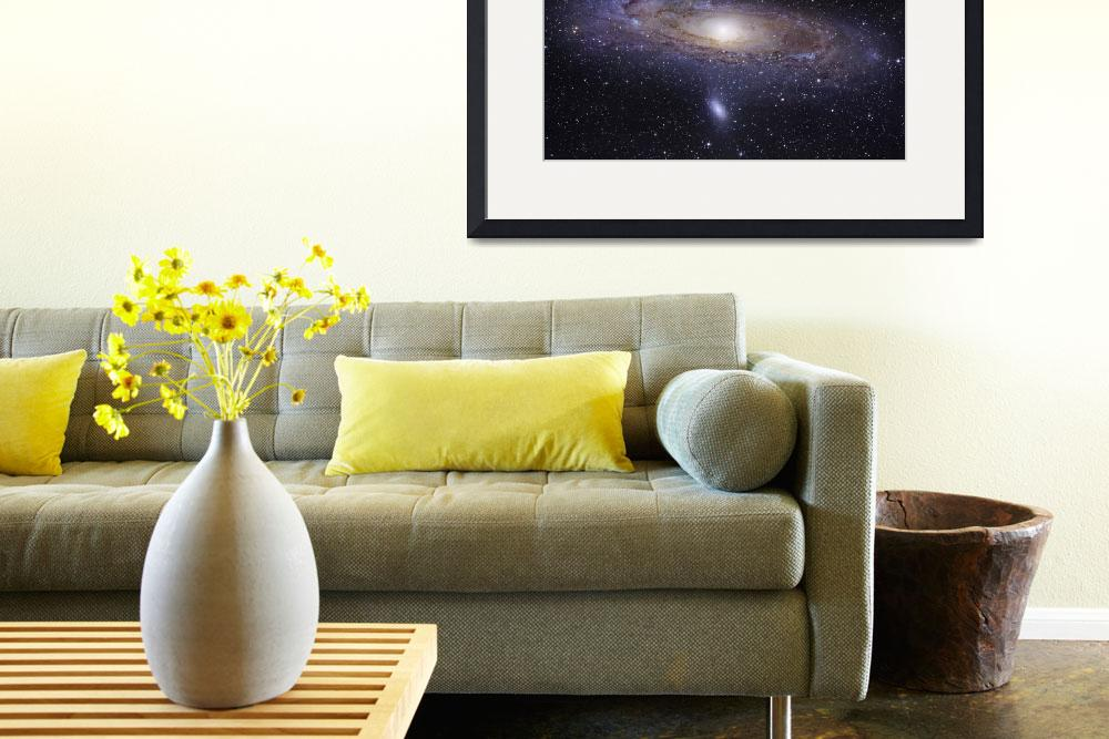 """The Andromeda Galaxy&quot  by stocktrekimages"
