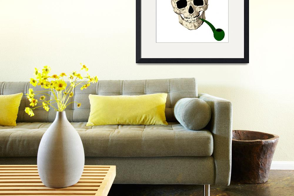 """St.Patrick skull&quot  (2011) by lirch"