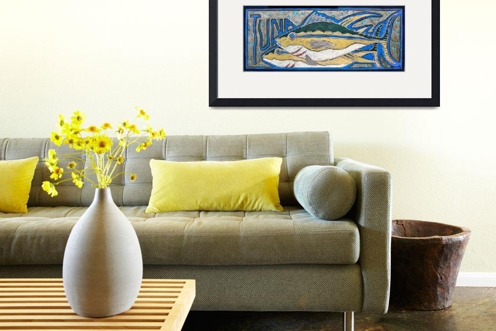 """Tuna&quot  (1996) by simmonsfineart"