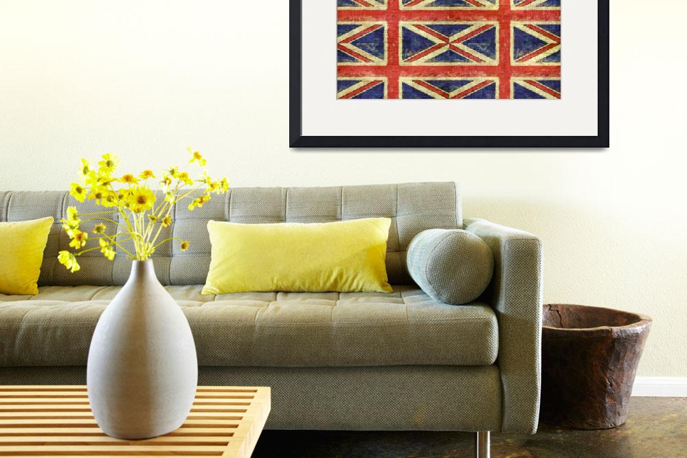"""British Flag Collage Two&quot  (2016) by Michelle1991"