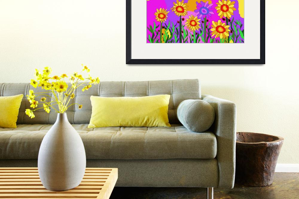 """sunflowers&quot  (2011) by ArtNaive"