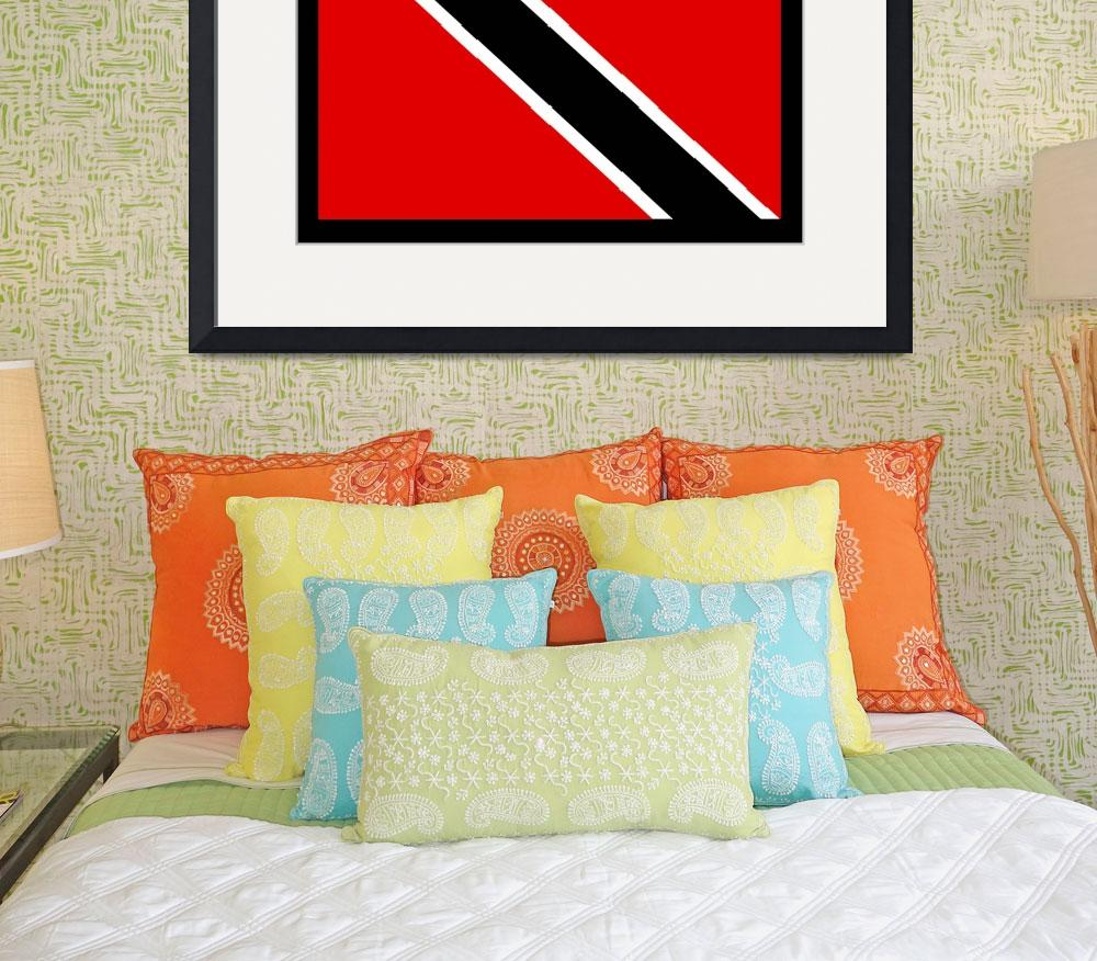 """Trinidad and Tobago Flag&quot  by KWGart"
