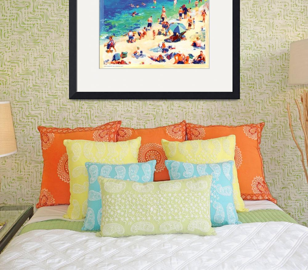 """The Cove, La Jolla California by Rd Riccoboni&quot  by BeaconArtWorksCorporation"