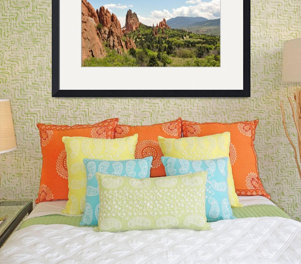 """Garden of the Gods - Puzzle&quot  (2009) by eileenomalleyphotography"