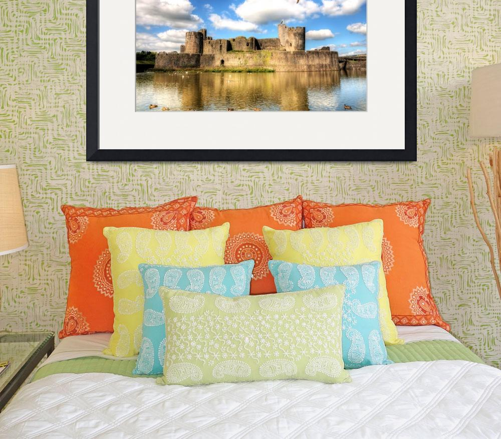 """Caerphilly Castle 1&quot  by StevePurnell"