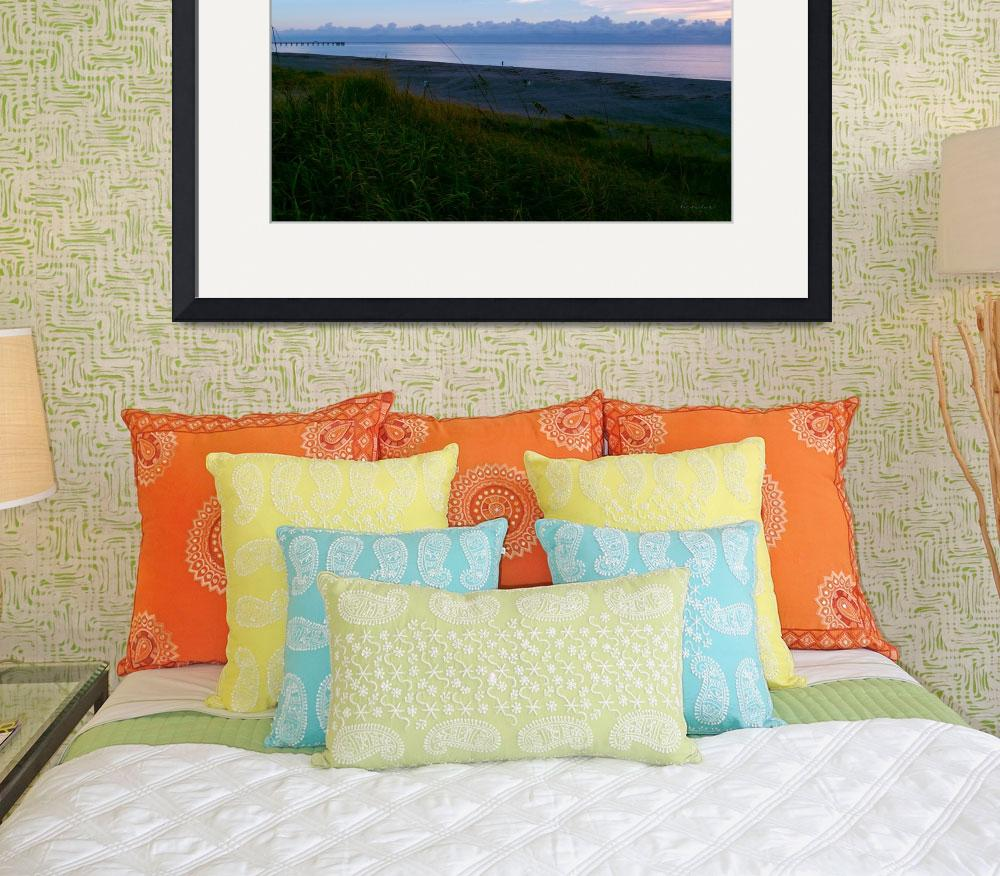 """Seascape Sunrise Morning Splendor B3&quot  (2015) by Ricardos"