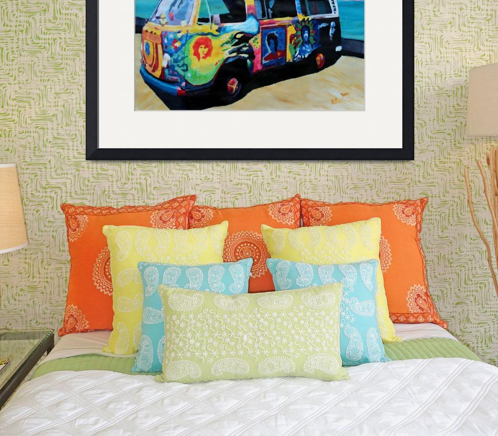 """Surf Bus Series: Here Comes the Sun Surf Bus&quot  (2012) by arthop77"