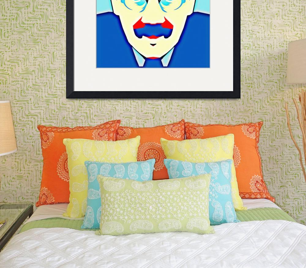 """Groucho Marx&quot  (2013) by ArtCinemaGallery"