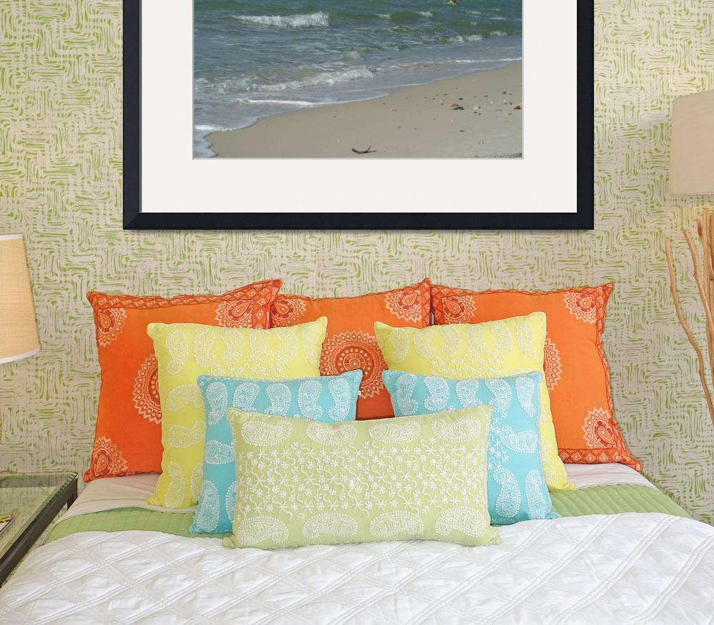 """Waves at Gulf Shores&quot  by Moments2Savor"