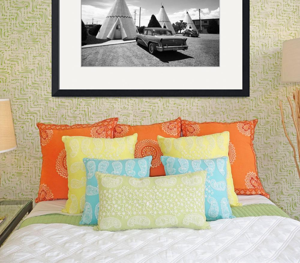 """Route 66 Wigwam Motel&quot  (2012) by Ffooter"