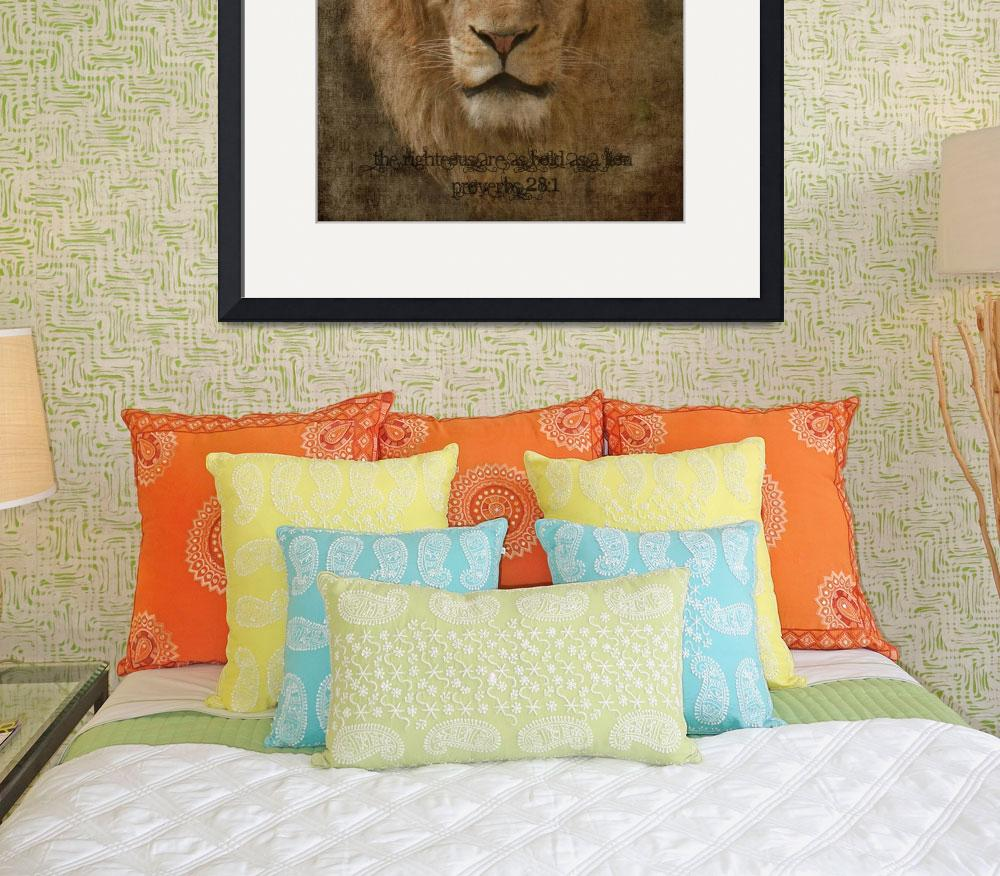 """Bold as  a Lion (Version 2)&quot  (2011) by LoriLindsey"