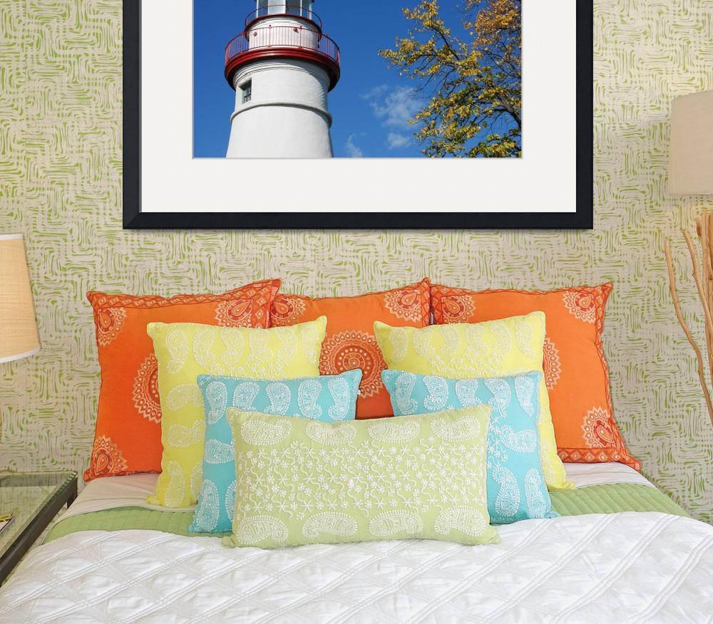 """Marblehead Lighthouse&quot  (2007) by marlawesterhold"