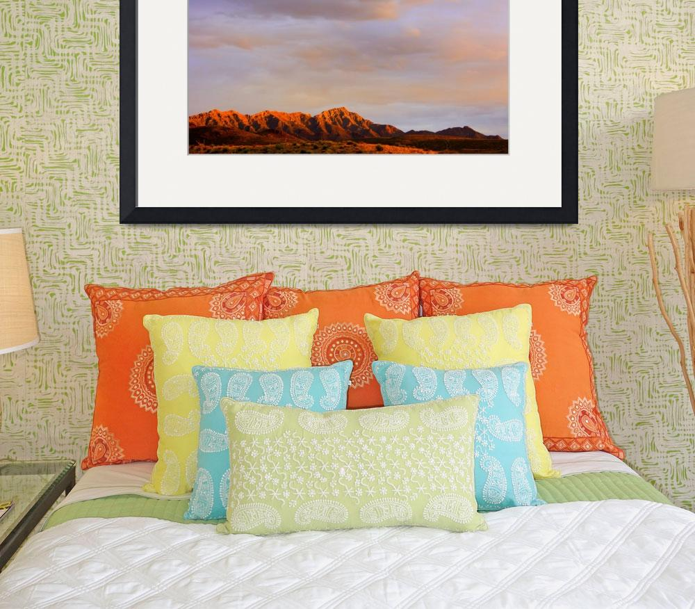 """Franklin Mountains Morning&quot  (2012) by"