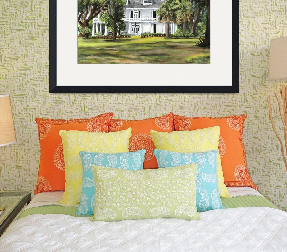 """Kenilworth Plantation Home&quot  (2010) by creativemoods"