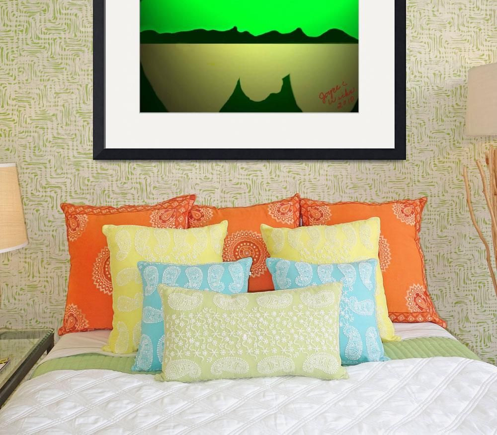 """Green Mountain&quot  (2010) by JoyLyn"