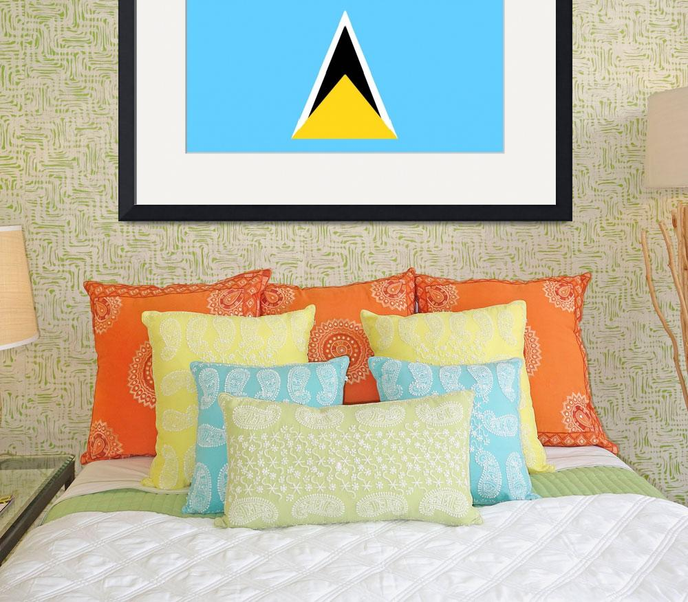 """Saint Lucia&quot  by tony4urban"