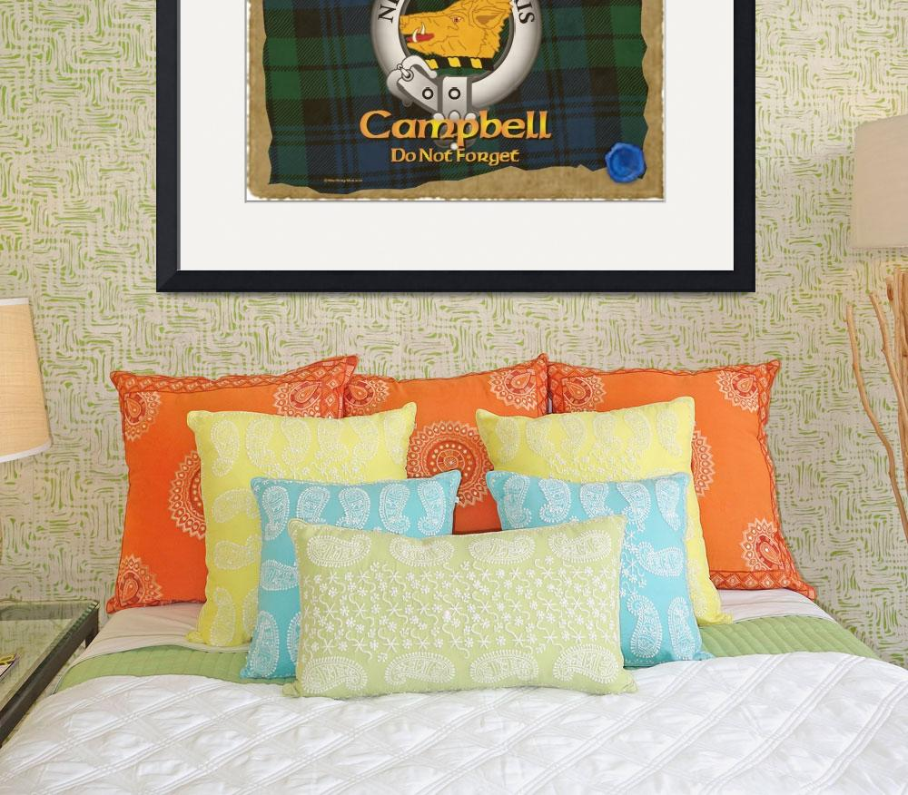 """Campbell Clan&quot  (2013) by macrorymor"