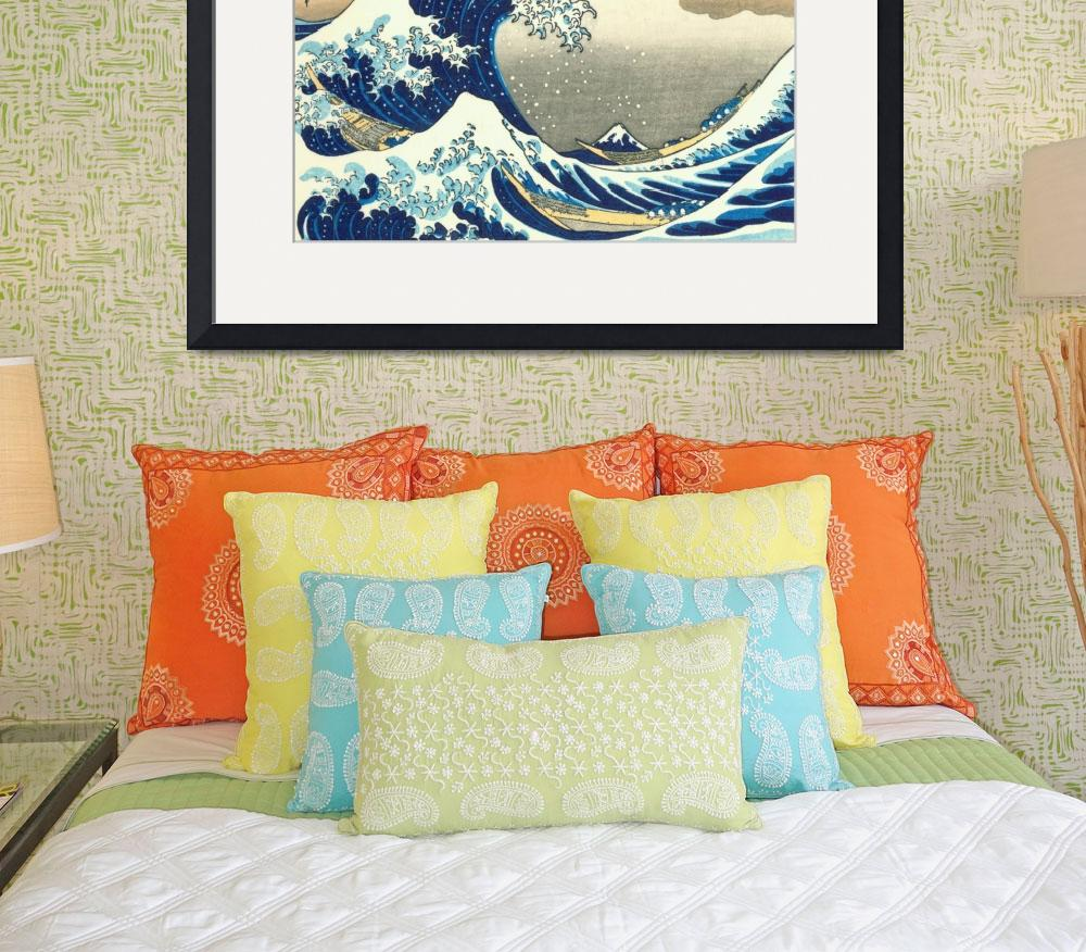 """Hokusai Great Wave&quot  by ArtLoversOnline"