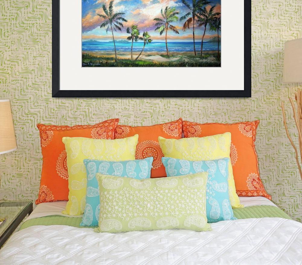 """Tropical Island Beach&quot  (2011) by mazz"
