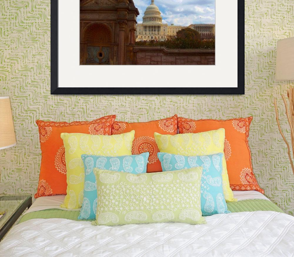 """Capitol, Washington DC&quot  (2004) by oilboy"