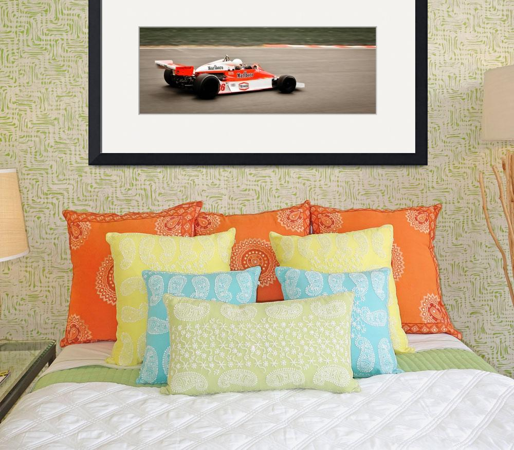 """McLaren M26 - James Hunt / Frank Lyons - Brands Ha&quot  by oliverpohlmann"