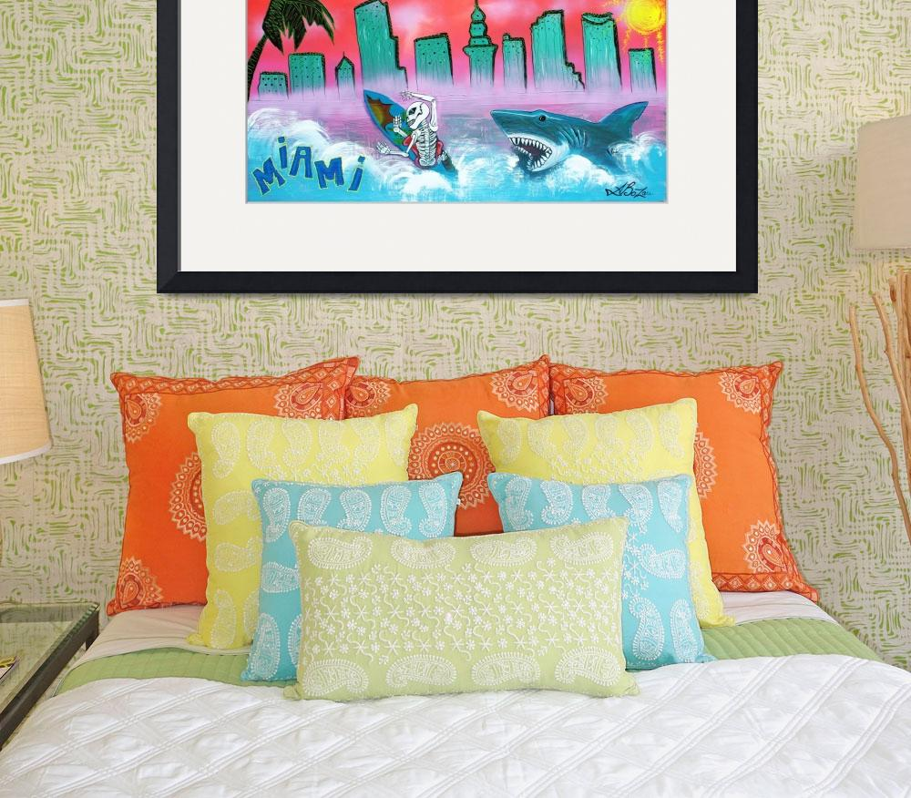 """Miami&quot  (2015) by ArtPrints"