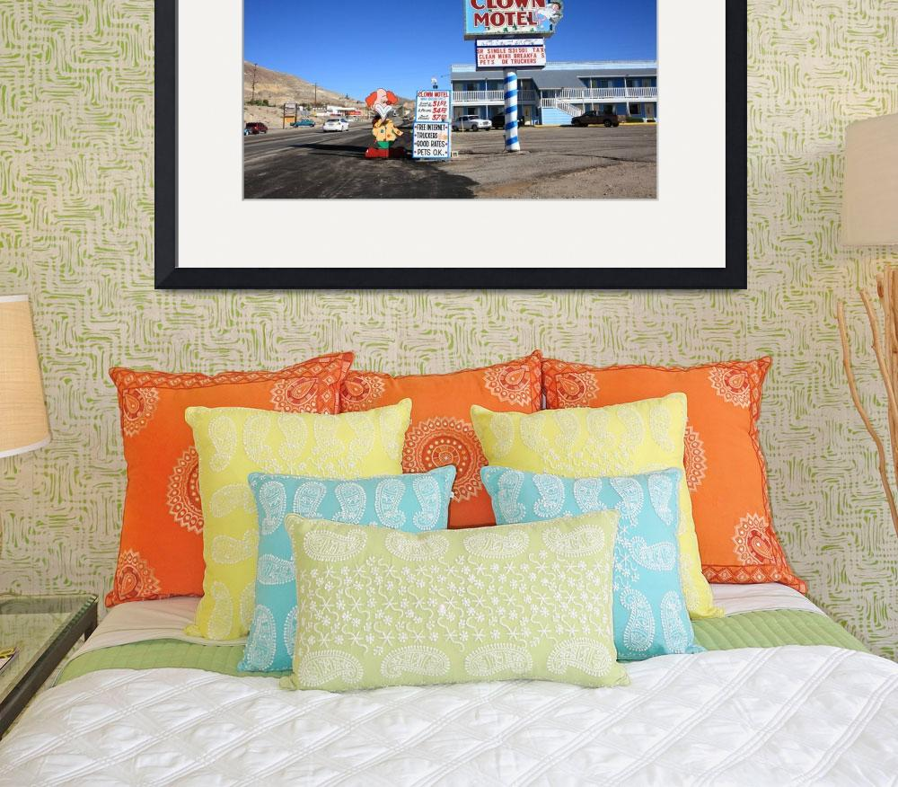 """Tonopah, Nevada - Clown Motel&quot  (2008) by Ffooter"