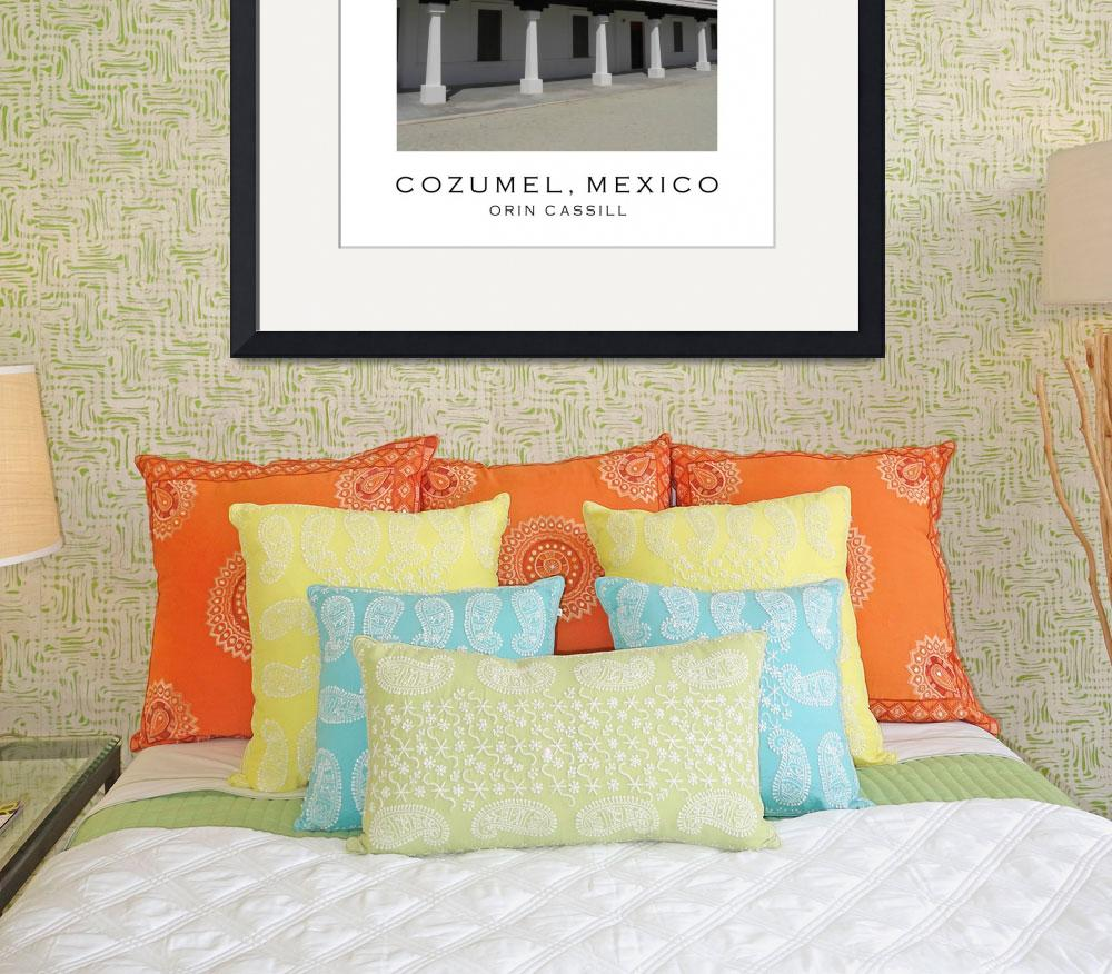 """Cozumel Poster #3&quot  (2010) by orincassill"