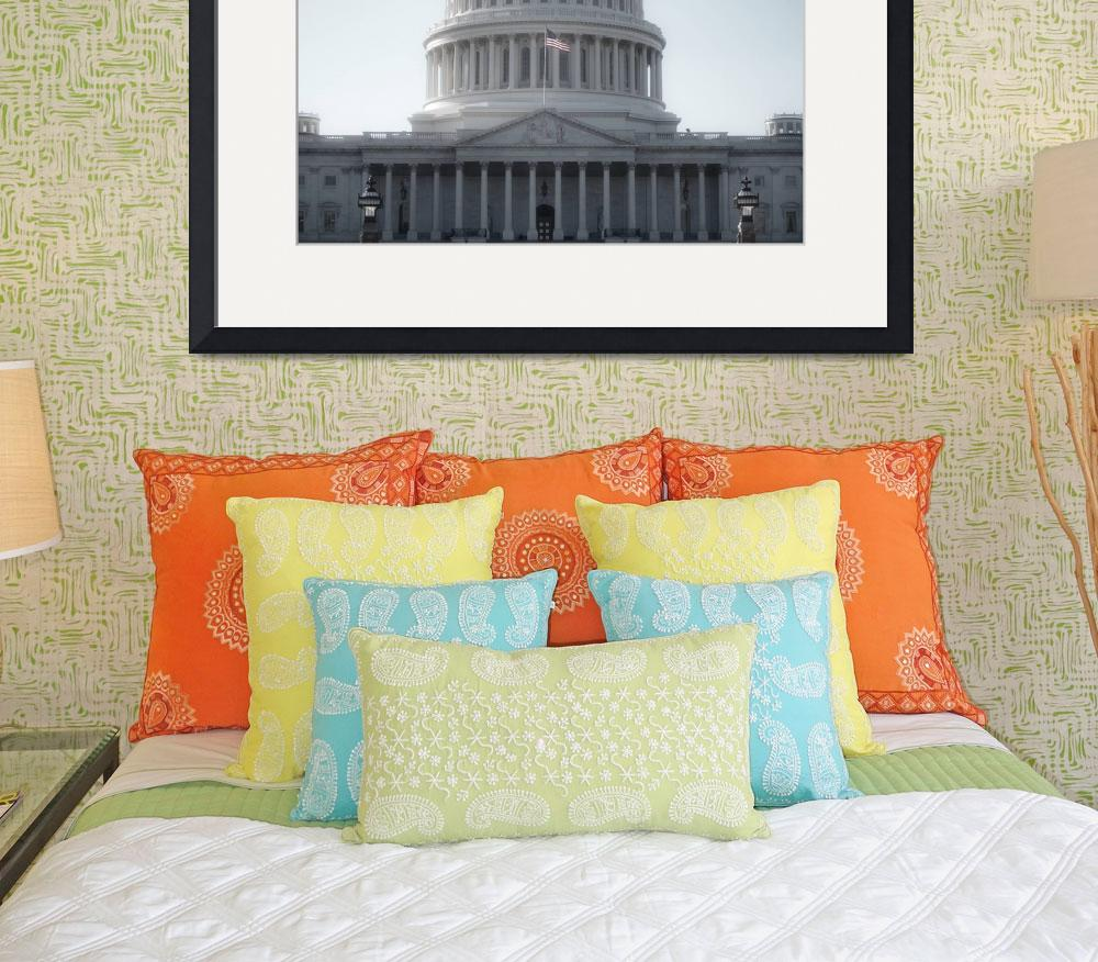 """Capitol Building&quot  (2008) by KEEGMAN"