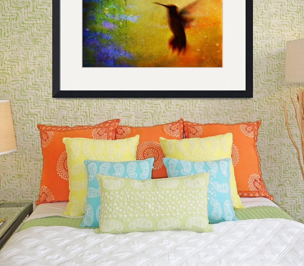 """hummingbird blur&quot  (2013) by rchristophervest"