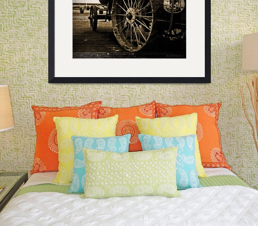 """Russell Steam Tractor&quot  (2011) by Tapestry"