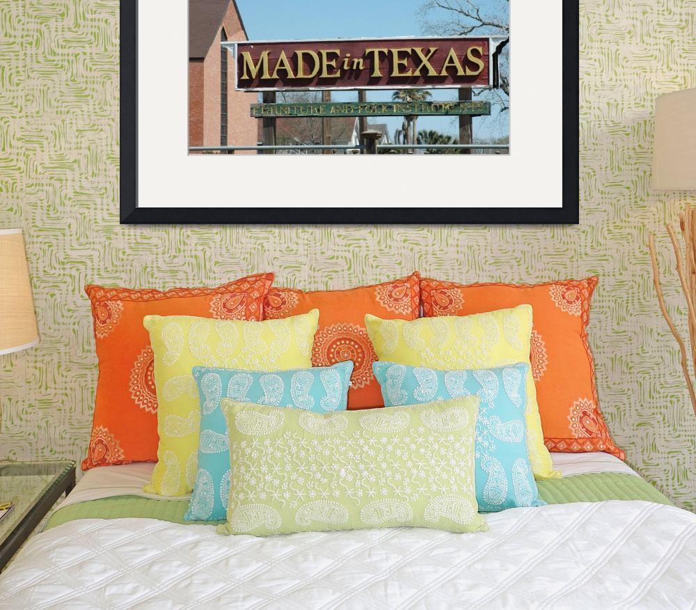 """Made in Texas&quot  (2010) by allsouthern23"