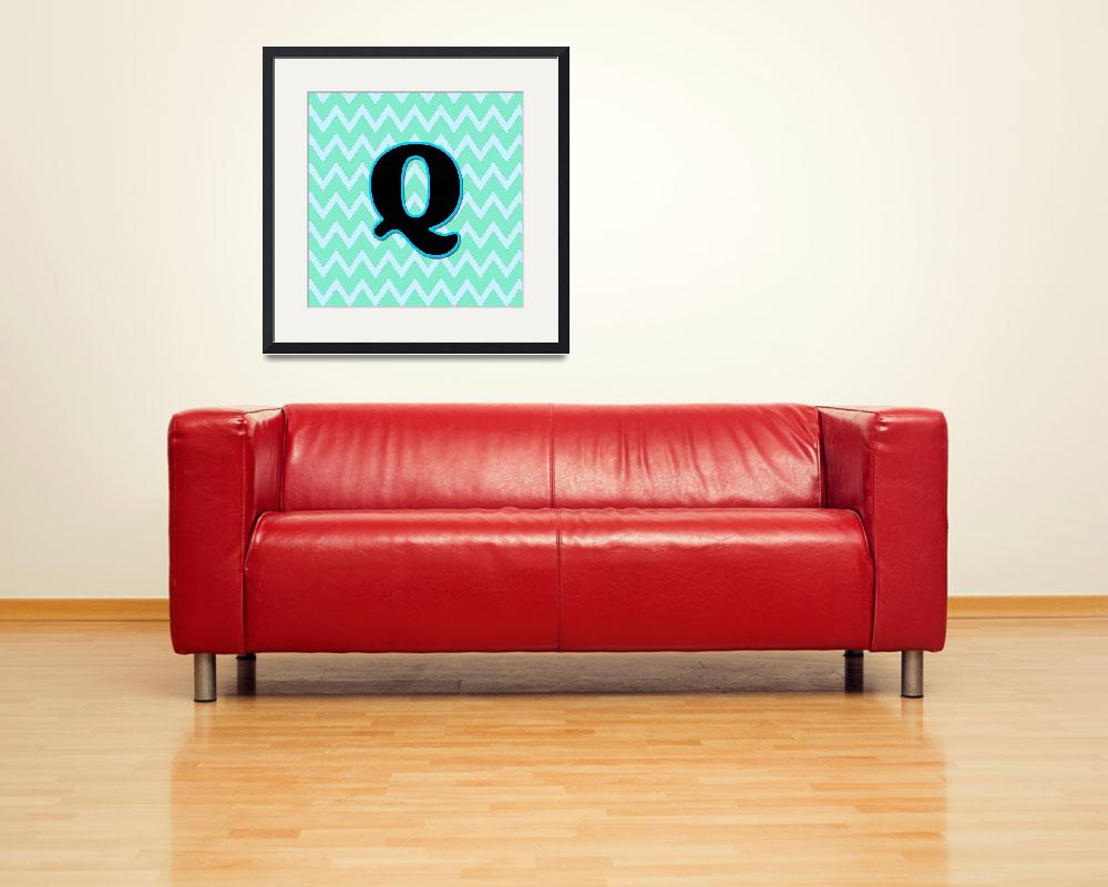 """Letter Q&quot  by paintingsbygretzky"