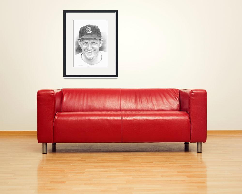 """Stan Musial&quot  (2010) by JHancock"