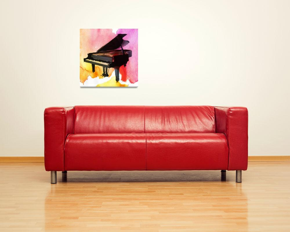 """Colorful Piano&quot  by Aneri"