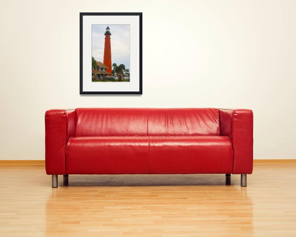 """Ponce Inlet Lighthouse&quot  (2014) by DBenoit"