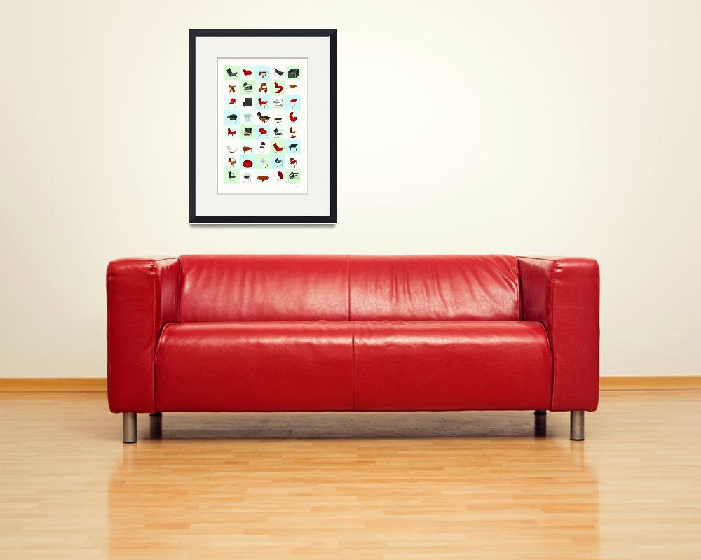 """Mid-Century Modern Furniture (Cool)&quot  (2009) by jamesprovost"