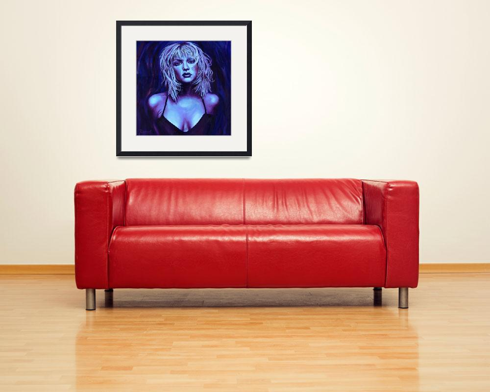 """Courtney Love&quot  (2008) by RamosStudios"