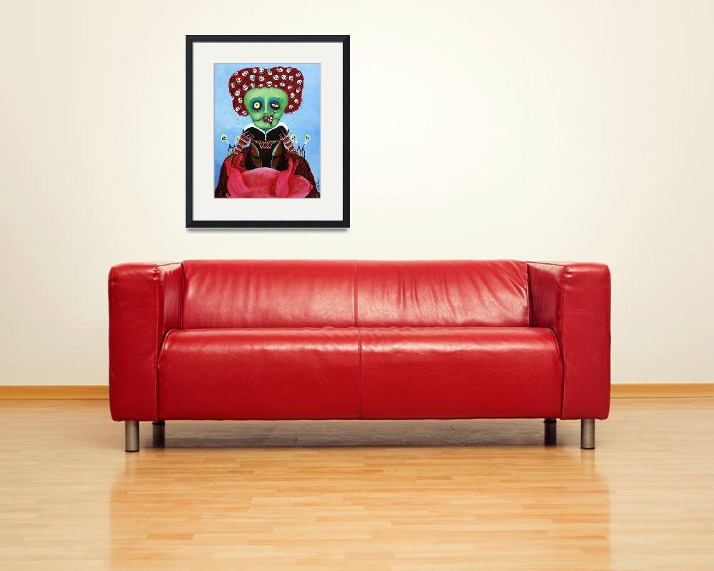 """Iracebeth of Crims - Red Queen - A Warm Pig Belly&quot  (2012) by ArtPrints"