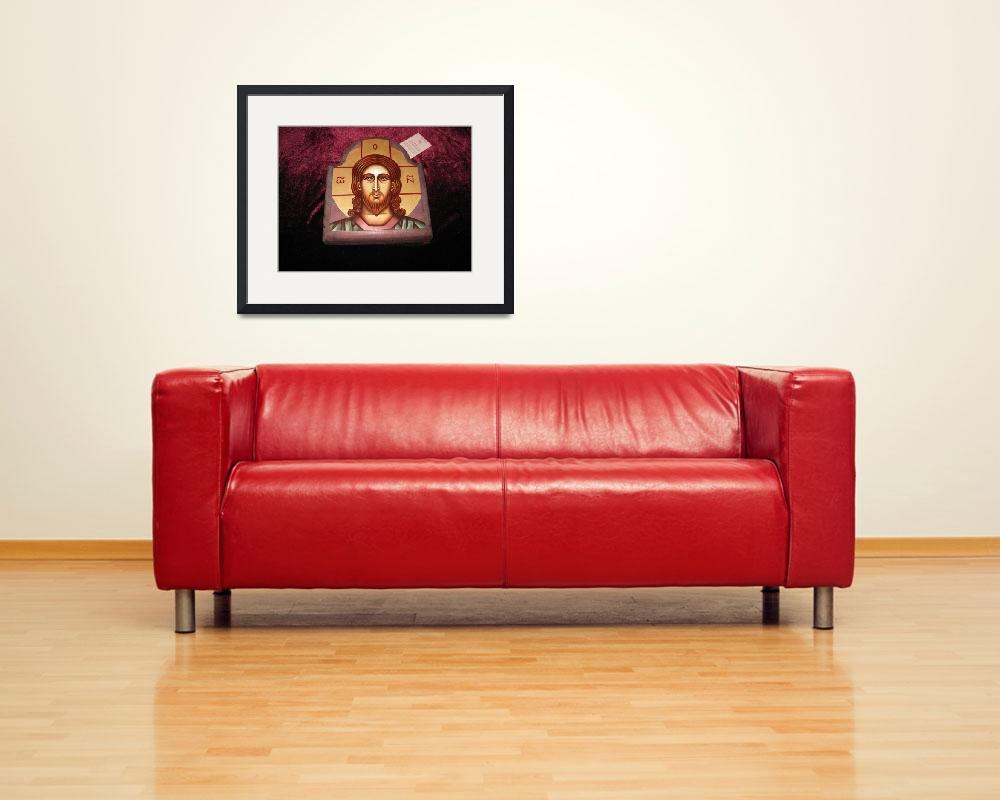 """Christ icon&quot  (2005) by ArteSanto"