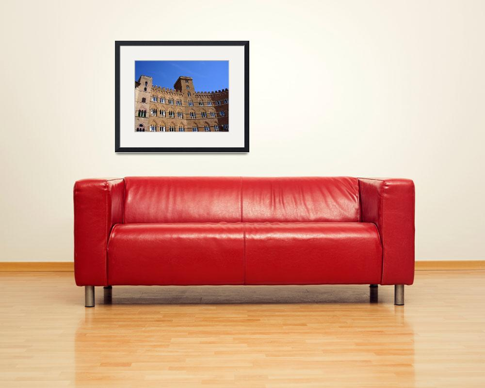 """Beautiful architecture in Sienna Italy&quot  (2007) by ExpressDesigns"